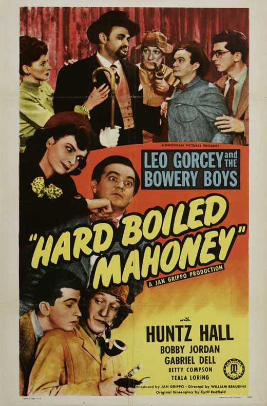 Hard Boiled Mahoney movie