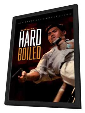 Hard-Boiled - 27 x 40 Movie Poster - Style B - in Deluxe Wood Frame