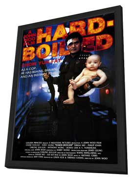 Hard-Boiled - 11 x 17 Movie Poster - Style A - in Deluxe Wood Frame