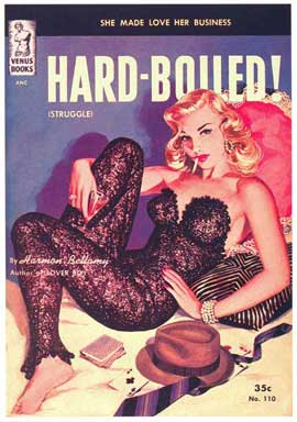 Hard-Boiled! - 11 x 17 Retro Book Cover Poster