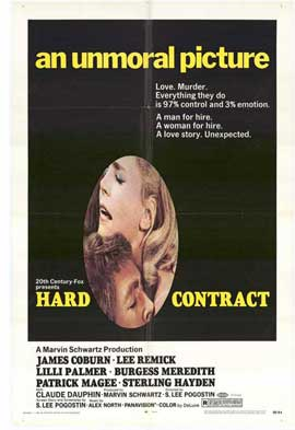 Hard Contract - 11 x 17 Movie Poster - Style A