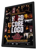 Hard Core Logo - 11 x 17 Movie Poster - Style A - in Deluxe Wood Frame