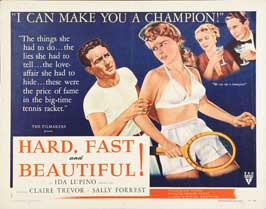Hard, Fast and Beautiful! - 22 x 28 Movie Poster - Half Sheet Style A