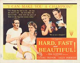 Hard, Fast and Beautiful! - 22 x 28 Movie Poster - Half Sheet Style B