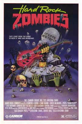 Hard Rock Zombies - 27 x 40 Movie Poster - Style A