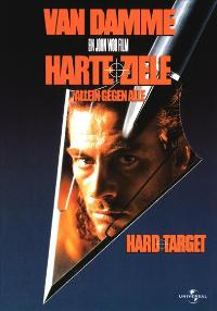 Hard Target - 11 x 17 Movie Poster - German Style A