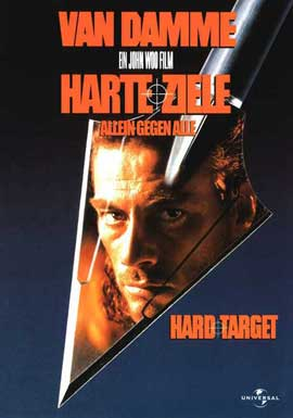 Hard Target - 27 x 40 Movie Poster - German Style A