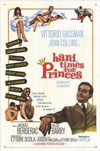 Hard Times for Princes - 27 x 40 Movie Poster - Style A