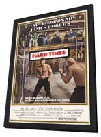 Hard Times - 11 x 17 Movie Poster - Style C - in Deluxe Wood Frame