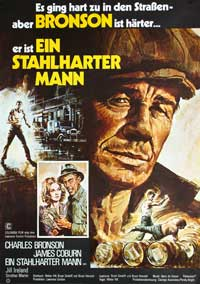 Hard Times - 11 x 17 Movie Poster - German Style A