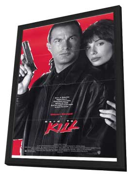Hard to Kill - 11 x 17 Movie Poster - Style A - in Deluxe Wood Frame