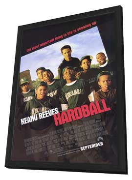 Hardball - 11 x 17 Movie Poster - Style A - in Deluxe Wood Frame