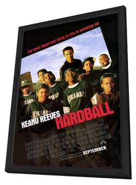 Hardball - 27 x 40 Movie Poster - Style A - in Deluxe Wood Frame