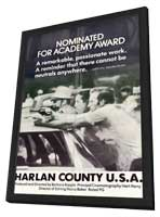 Harlan County, U.S.A. - 11 x 17 Movie Poster - Style A - in Deluxe Wood Frame