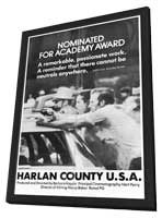 Harlan County, U.S.A. - 27 x 40 Movie Poster - Style A - in Deluxe Wood Frame