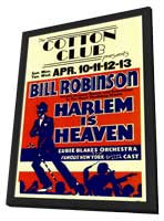 Harlem is Heaven - 11 x 17 Movie Poster - Style A - in Deluxe Wood Frame