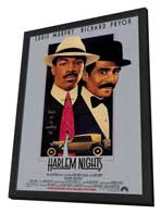 Harlem Nights - 27 x 40 Movie Poster - Style A - in Deluxe Wood Frame
