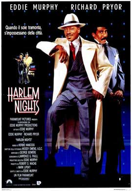 Harlem Nights - 11 x 17 Movie Poster - Spanish Style A