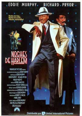 Harlem Nights - 11 x 17 Movie Poster - Spanish Style B