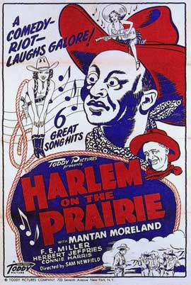 Harlem on the Prairie - 11 x 17 Movie Poster - Style B
