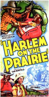 Harlem on the Prairie - 43 x 62 Movie Poster - Bus Shelter Style A