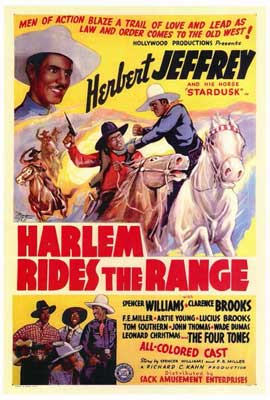 Harlem Rides the Range - 27 x 40 Movie Poster - Style A