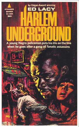 Harlem Underground - 11 x 17 Retro Book Cover Poster