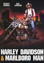 Harley Davidson and the Marlboro Man - 11 x 17 Movie Poster - Style B