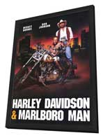 Harley Davidson and the Marlboro Man - 11 x 17 Movie Poster - Style B - in Deluxe Wood Frame