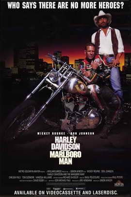 Harley Davidson and the Marlboro Man - 11 x 17 Movie Poster - Style C