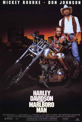 Harley Davidson and the Marlboro Man - 27 x 40 Movie Poster - Style A