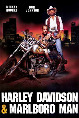 Harley Davidson and the Marlboro Man - 27 x 40 Movie Poster - Style B