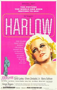 Harlow - 11 x 17 Movie Poster - Style B