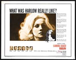 Harlow - 22 x 28 Movie Poster - Half Sheet Style B