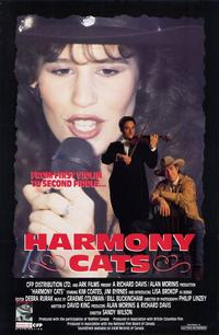 Harmony Cats - 11 x 17 Movie Poster - Style A