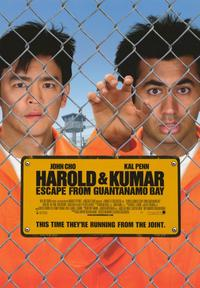 Harold and Kumar: Escape from Guantanamo Bay - 43 x 62 Movie Poster - Bus Shelter Style B