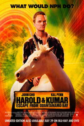 Harold and Kumar: Escape from Guantanamo Bay - 27 x 40 Movie Poster - Style C