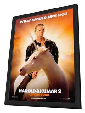 Harold and Kumar: Escape from Guantanamo Bay - 27 x 40 Movie Poster - Style A - in Deluxe Wood Frame