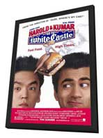 Harold and Kumar Go to White Castle - 27 x 40 Movie Poster - Style A - in Deluxe Wood Frame