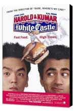 Harold and Kumar Go to White Castle - 27 x 40 Movie Poster - Style A - Museum Wrapped Canvas
