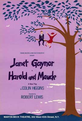 Harold and Maude (Broadway) - 27 x 40 Movie Poster - Style A