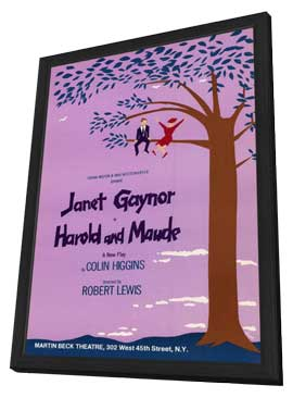Harold and Maude (Broadway) - 11 x 17 Poster - Style A - in Deluxe Wood Frame