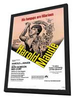 Harold and Maude - 11 x 17 Movie Poster - Style A - in Deluxe Wood Frame