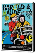 Harold and Maude - 11 x 17 Movie Poster - French Style A - Museum Wrapped Canvas