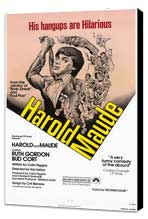 Harold and Maude - 27 x 40 Movie Poster - Style A - Museum Wrapped Canvas