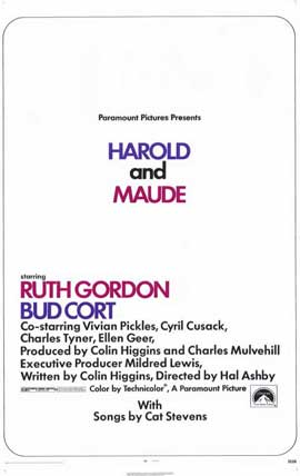 Harold and Maude - 11 x 17 Movie Poster - Style A