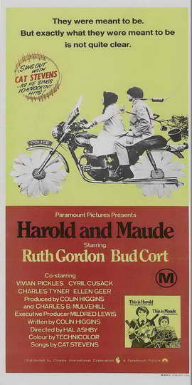 Harold and Maude - 20 x 40 Movie Poster - Style A