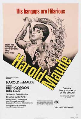 Harold and Maude - 11 x 17 Movie Poster - Style B