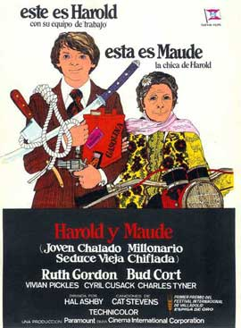 Harold and Maude - 11 x 17 Movie Poster - Spanish Style A