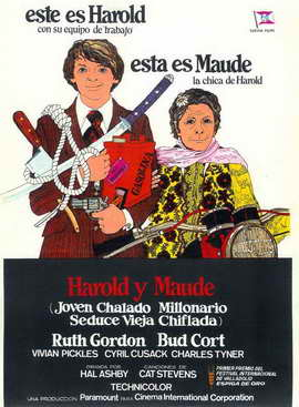 Harold and Maude - 27 x 40 Movie Poster - Spanish Style A
